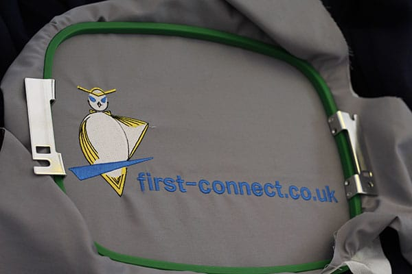 first connect workwear uniform Embroidery Norwich