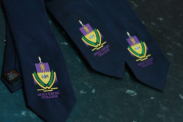 embroidered ties norwich school uniform