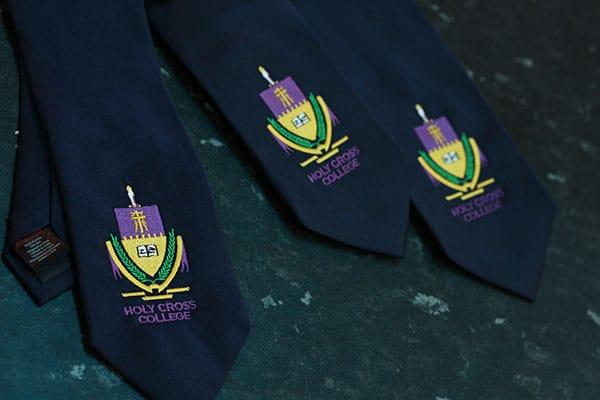 embroidered ties norwich school uniform