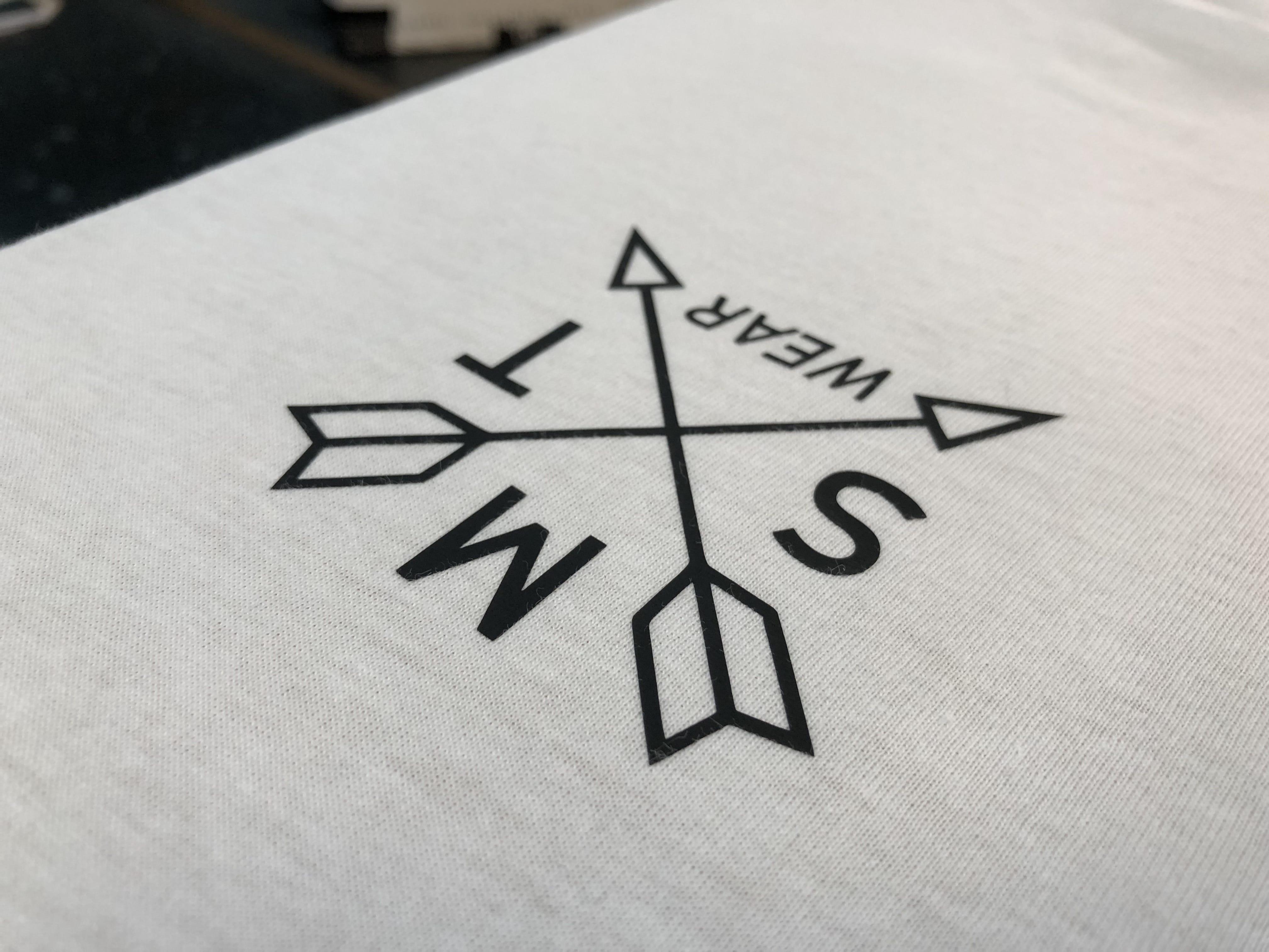 T-Shirt Vinyl Print Norwich