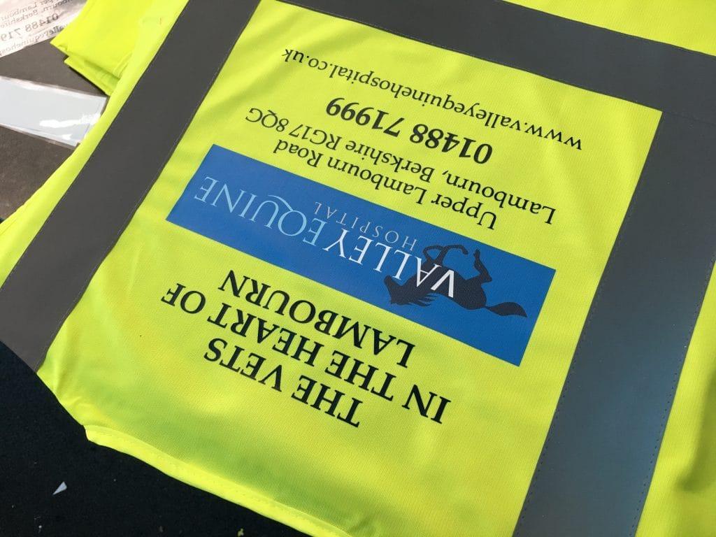 Printed Hi-Vis Workwear Norwich Norfolk east anglia
