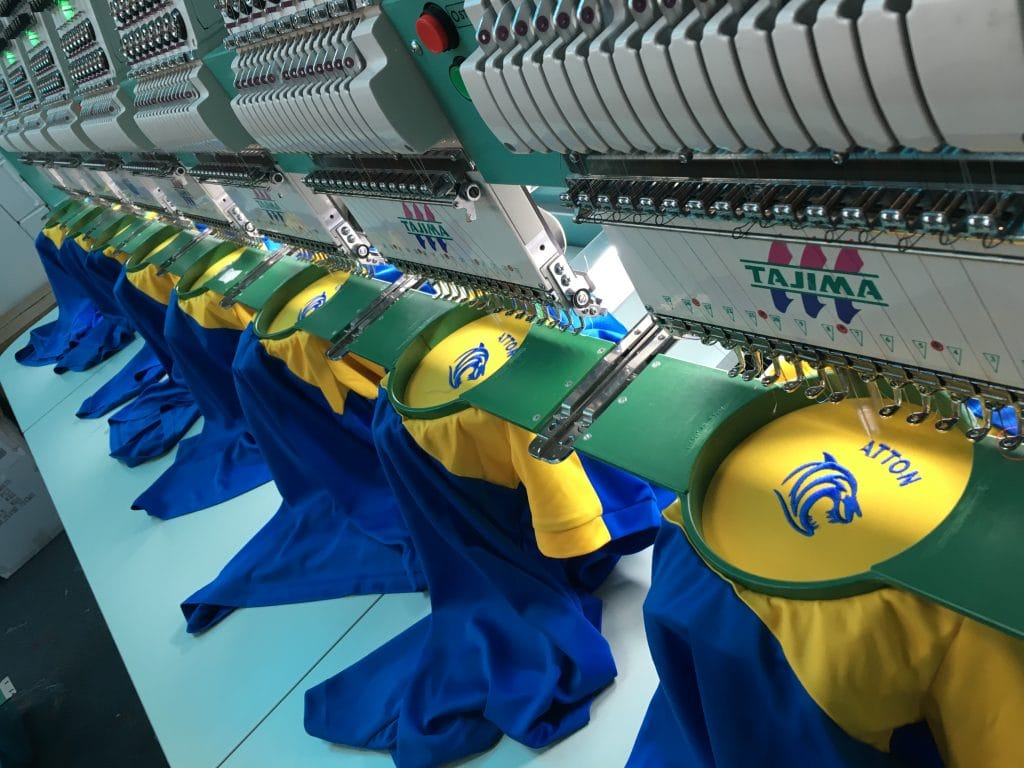 Embroidered Football Shirts Norfolk Norwich