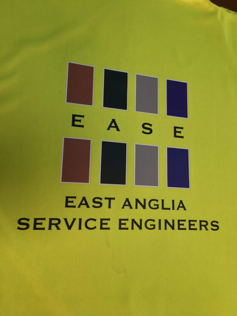 Printed Hi-Vis Workwear Norwich Norfolk east anglia