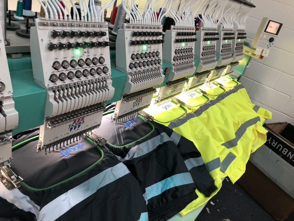 Embroidered Workwear Jackets Norwich Norfolk