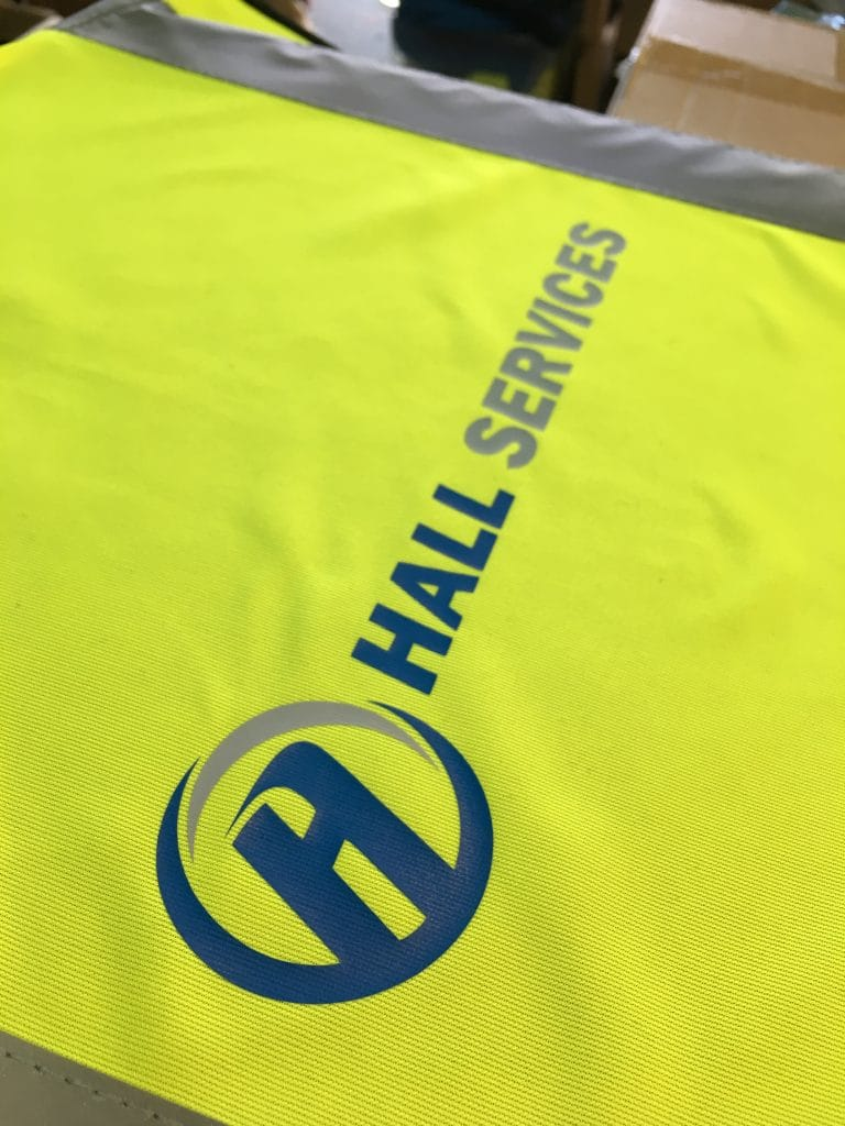 Printed Hi-Vis workwear Norwich Norfolk