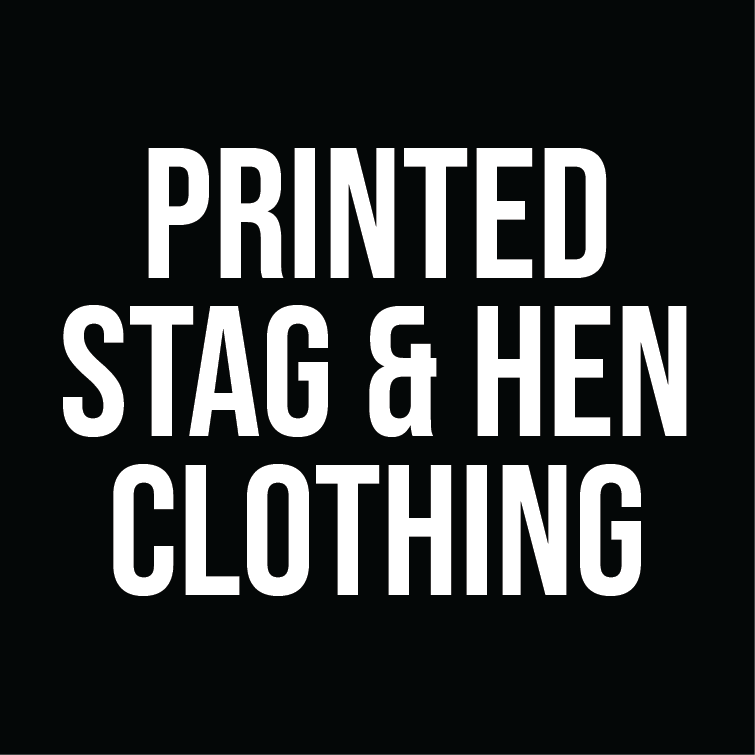 Printed Stag & Hen Clothing